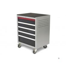 HBM 5 Loading Deluxe Professional verktøyvogn for verkstedutstyr