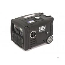 Generador / inversor HBM HY3200i con motor de gasolina de 3200 W