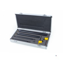 HBM 4-piece internal turning tool set with hm inserts