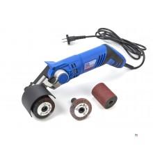 HBM Satinasjonsmaskin - Børstemaskin med vippehode - 420 Watt