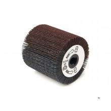 HBM Rollo de lijadora ancho para la máquina de satinado HBM - Cepillo con cabezal inclinable - 420 Watt