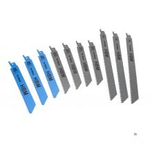 HBM 10-deles stempel sagblad for tre og metall