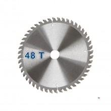 Scheppach 3901802705 HM- Lama de ferăstrău circulară potrivită pentru PL55 - 160 x 20 x 48T