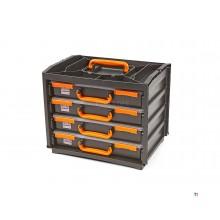 Caja de surtido portátil de 5 piezas HBM, estuche de surtido Deluxe