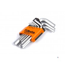 BETA 9 piece short hex key set - 96 bpc / sc9