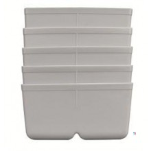 ERRO Inset box gray CombiBox 3, 5 pcs