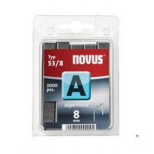 Agrafes Novus Fine Wire A 53 / 8mm, SH, 2000 pcs.