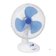 Bestron Table fan, basket O27cm, white, 30W
