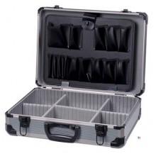 ERRO Aluminum case 485x335x152, silver