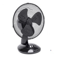 Bestron Table fan, basket O27cm, black, 30W