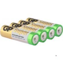 GP AA-batteri Alkaline Super 1,5V 4st