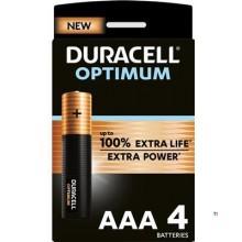 Duracell Alkaline Optimum AAA 4st.