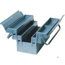 Caja de herramientas de metal ERRO 43cm, 5 piezas