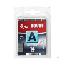 Agrafes Novus Fine Wire A 53 / 14mm, SH, 1000 pcs.