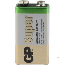 GP 9V battery Alkaline Super 1,5V 1st
