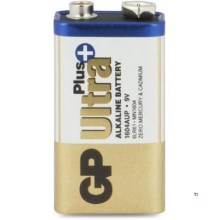 Batteria GP 9V Alkaline Ultra Plus 1,5V 1 °