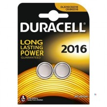 Duracell Button Cell Batteries 2016 2pcs.
