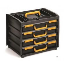 Cutie de sortiment Raaco Cutie la îndemână cu 4 compartimente