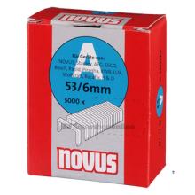 Agrafes Novus Fine Wire A 53 / 6mm, 5000 pcs.