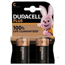 Duracell Alkaline Plus 100 C 2st.