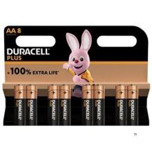 Duracell Alkaline Plus 100 AA 8st.