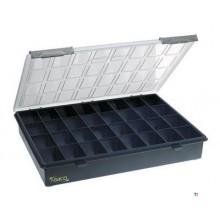 Raaco Assortiment box Assorter, 32 faste rum