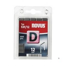 Agrafes Novus Flatwire D 53F / 12mm, 600 pcs.