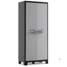 Keter High Storage Cabinet, Titan, plastic, 4 shelves