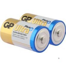 Batteria GP D Mono Alkaline Ultra Plus 1.5V 2 pezzi