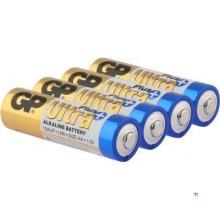 GP AA-batteri Alkaline Ultra Plus 1,5V 4st