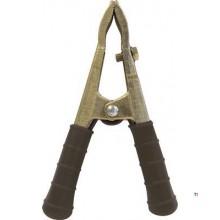 Abrazadera GYS bronce, empuñadura negra 300A