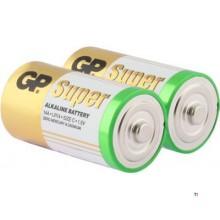 Batería GP C Baby Alkaline Super 1,5V 2pcs