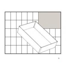 Caja de empotrar Raaco 80 BA6-1, suelta