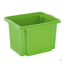 Cutie de depozitare Kis, H Box, dimensiune S, 25L, verde deschis