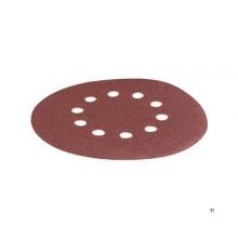 Disco de lijado Scheppach O215mm K180, 10 piezas