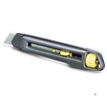 Cuțit cu clapetă Stanley Interlock de 18 mm.