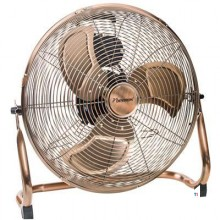 Bestron Floor fan, basket O40cm, copper 100W