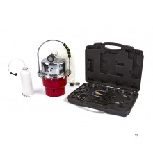 HBM professional pneumatic brake bleeder with adapter set