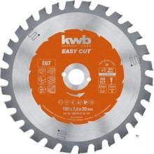 KWB Circular Sawbl, Hm 190X20 67E