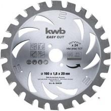 KWB Circular Sawbl, Hm 160X20 Akku Top