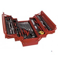 AmPro Cantilever Tool box filled, 76-piece