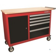 ERRO Elite Roller trolley with 5 drawers