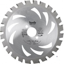 Ferăstrău circular KWB, Hm 135X20 Akku Top