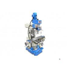 HBM BF 60 Professionelle Fräsmaschine mit 3-Achsen-LCD-Digitalanzeigesystem Digital