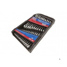 HBM 25-piece English spanner set