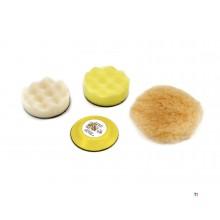 Set di 4 accessori AOK per set mini lucidatrice AOK 6 pezzi
