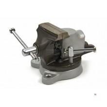HBM 50 mm skruestikke med svingbar underdel