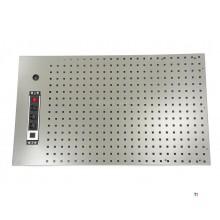 HBM Verktygskort 105 x 61 cm Inklusive uttag för verkstadsutrustning