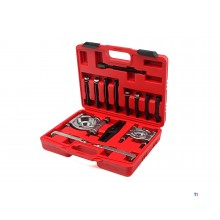 HBM 14-piece bearing puller set