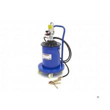 HBM 20 liters rörlig pneumatisk fettpump 300-400 bar tryck